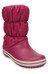 Crocs Winter Puff Boots Women Berry